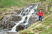 Cumbria Way- Waterfall in Langstrath