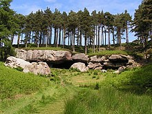 st cuthberts way - the cave