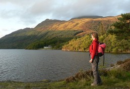 Scotland Walking Holidays - Rowardennan on the West Highland Way