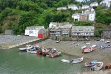 Clovelly Seafront - South West Coast Path