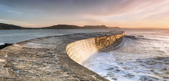 The Cobb at Lyme Regis - South Devon Coast Path
