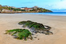 Newquay Beach - South West Coast Path
