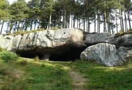 St Cutherbert's Cave on St Cuthbert's Way