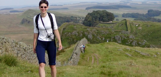 Walking on Hadrian's Wall