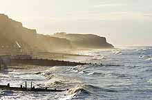 Rough sea at Cromer