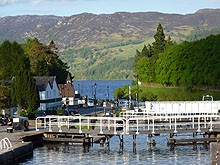 Great  glen Way at Fort Augustus
