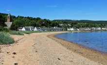 lamlash on the Arran Coastal Path