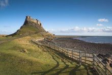 Lindisfarne Catle on Holy Island