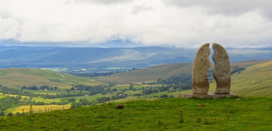 On Lady Anne's Way at Mallerstang