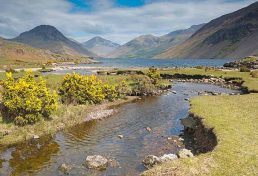 The View along Wastwater towards Wasdale Head