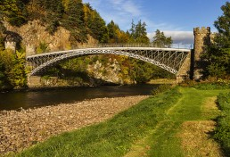 Telford's Bridge on the Speyside Way